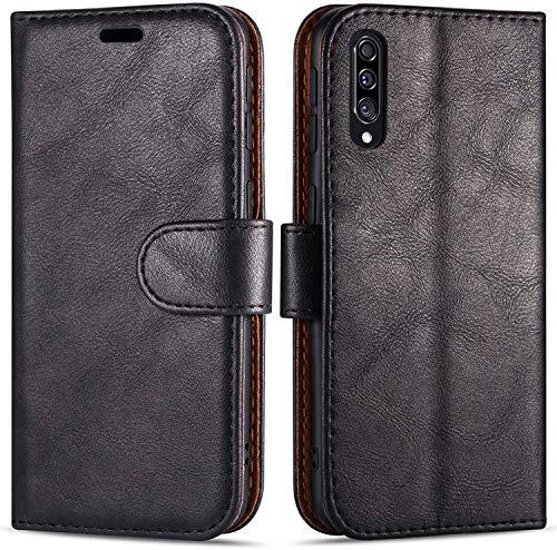 Hülle Collection Hochwertige Leder hülle für Samsung Galaxy A30s Hülle (6,4