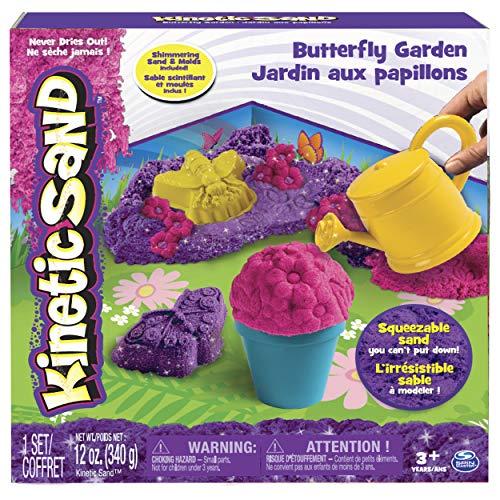 Kinetic Sand 6037299 - Schmetterlingsgarten Set