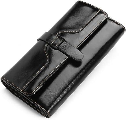 JINBAOLAI Long Leather Wallet