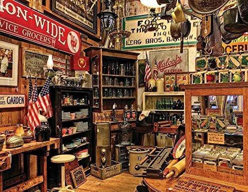 Americana Jigsaw Puzzle (500 Piece) by