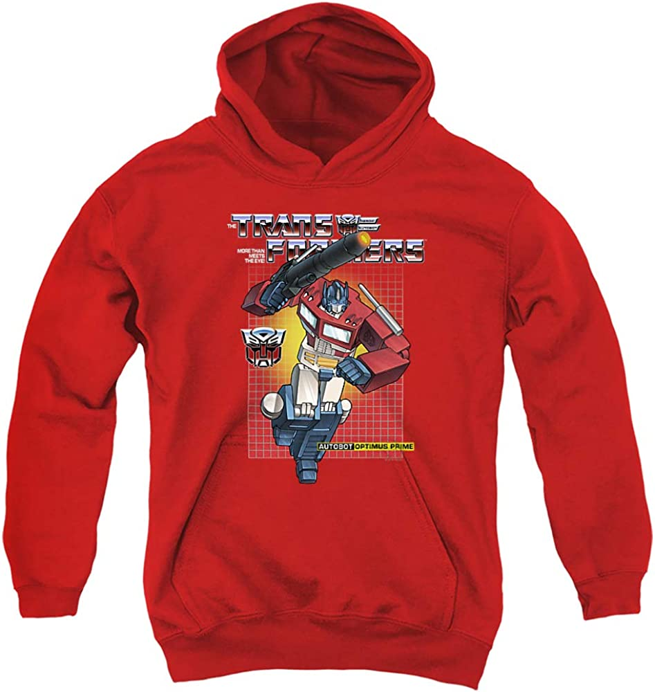 half Transformers Optimus Prime free shipping Unisex Youth Pull-Over Hoodie