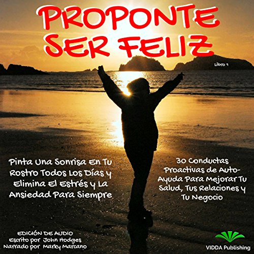 Proponte Ser Feliz audiobook cover art