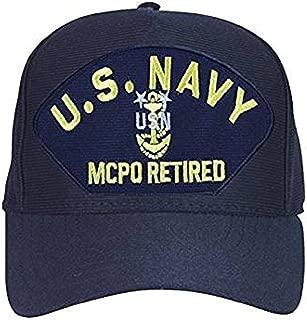 U.S. Navy Master Chief Petty Officer Hat / USN MCPO RETIRED Baseball Cap