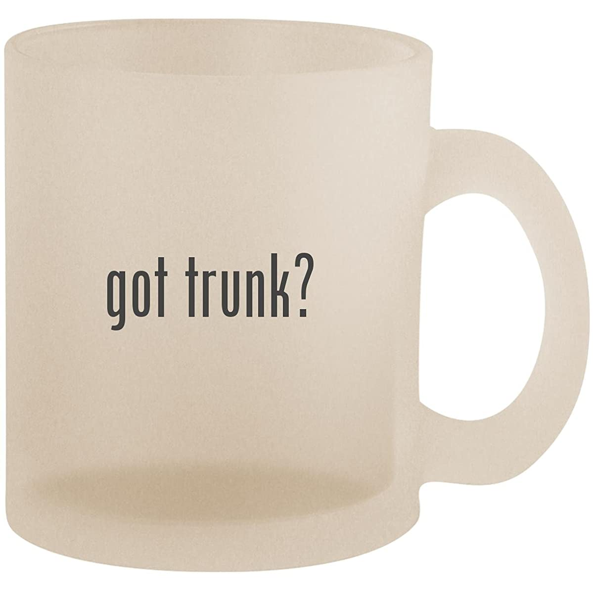 got trunk? - Frosted 10oz Glass Coffee Cup Mug