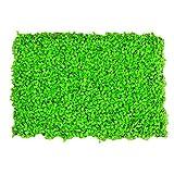 WAA 40X60CM Simulazione Parete Vegetale Decorazione per Interni Ed Esterni Milano Prato Pianta Verde Parete Scultura in Plastica Greening