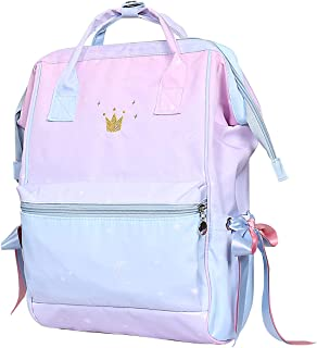 Fashion Japanese Backpack for Women & Girls - Waterproof Travel Backpack Purse - School Bookbags for College Student