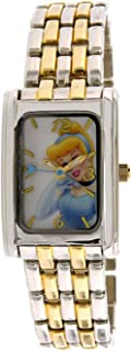Disney Princess Girl's PRS564 Two Tone Quartz Fashion Watch