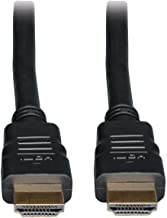Tripp Lite High Speed HDMI Cable with Ethernet, Ultra HD 4K x 2K, Digital Video with Audio, In-Wall CL2-Rated (M/M), 6-ft. (P569-006-CL2)