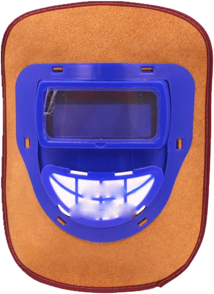 Austin Mall Sale SALE% OFF Xiao Jian Leather Welding Mask - Full Automatic Arc Face Dimming