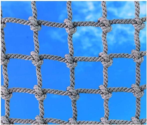 HNWNJ Filet d'escalade,Filet de Grimper Enfants Corde Prougeection Balcon SéCurité Garde-Corps DéCoration en Jardin Treillis,pour Filet Remorque Benne Camion Escalier Rampe D'Escalier Anti-Chats,5 8