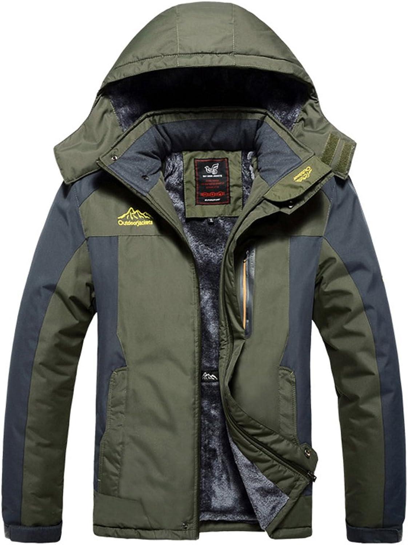 HOOHAY Men's and Women's Waterproof Mountain Fleece Outdoor Jacket