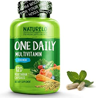 NATURELO, One Daily Multivitamin for Men, 120 Vegetarian Capsules by ROYALISTA.RON