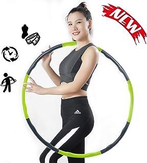 フラフープ ダイエットTAKU STORE フラフープ 痩せる 有酸素運動 室内 組み立て式 運動器具 女性 柔らかい サイズ調整可 大人 子供用 自宅 人気プレゼント