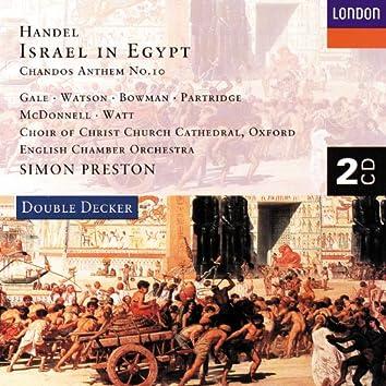 Handel: Israel in Egypt etc.