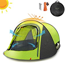 Sunnychic Pop Up Tent Camping Tent, Automatic Instant Pop...
