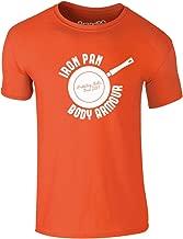 Brand88 - Iron Pan Body Armour, Adults Printed T-Shirt