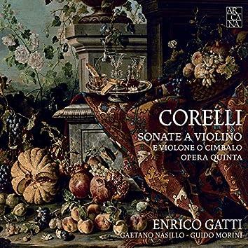 Corelli: Sonate a violino e violone o cimbalo. Opera quinta