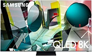 Samsung 82 Inch TV QLED Flat 8K Quantum Processor AI Upscale Motion Rate 200 PQI 4700 Quantum HDR 32x Direct Ultimate 8K D...