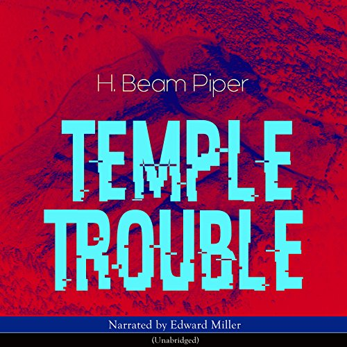 Temple Trouble audiobook cover art
