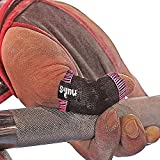 JerkFit Nubs Thumb Sleeves Protector for Hook Grip, Olympic Weightlifting, Powerlifting, Gymnastics, Prevent Calluses, Blisters, and Tears | Pair (Pink, Small)