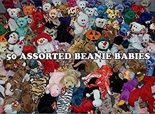 BEANIE BABIES 50 Ty Assorted Wholesale Lot. New with Tags! Perfect for Carnival Prizes or Goody Bags!