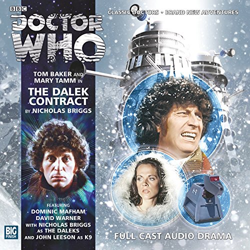 Doctor Who - The Dalek Contract audiobook cover art