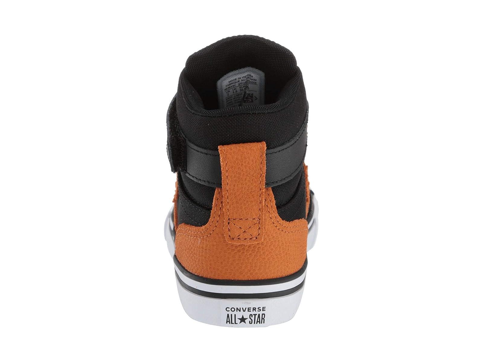 6580a8bab784f Details about Boy's Converse Kids Pro Blaze Strap Back Court Leather - Hi  (Little Kid/Big Kid)