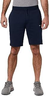 Columbia Men's M Logo Fleece Shorts, M Model, Cotton Blend