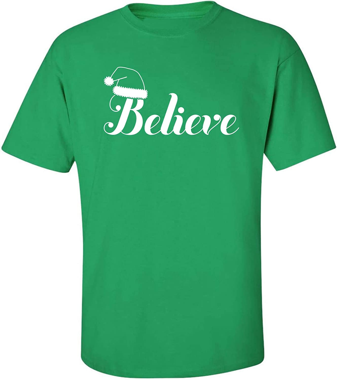 Believe Adult T-Shirt in Kelly Green - XXXXX-Large