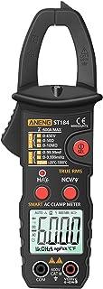 True RMS Multímetro Digital Alicate Amperímetro DC/AC Detector de Tensão AC Amp Meter com Capacitância em Ohm NCV Continui...
