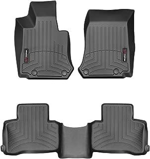 WeatherTech Custom Fit FloorLiner for Mercedes-Benz GLC-Class - 1st & 2nd Row (Black)
