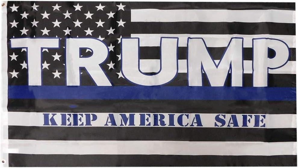 Trade Nippon Dealing full price reduction regular agency Winds USA Thin Blue Line Safe Keep America Premium Trump Q