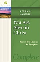 You Are Alive in Christ: A Guide to Colossians (Stonecroft Bible Studies)