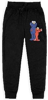 Youth Sweatpants KAWS Elmo Jogger Pant Cute Training Pants