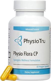 Physio Flora Curcumin Piperine, Probiotics and Prebiotics for Healthy Gut, 60 Veggie..