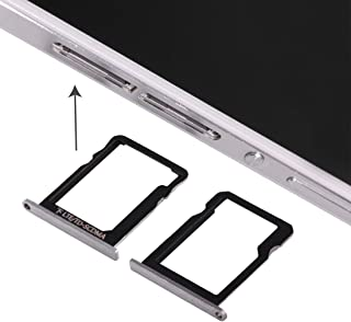 Install SIM card accessories For Huawei Ascend P7 Micro SIM Card Tray + Micro SD Card Tray (Black) (Color : Black)