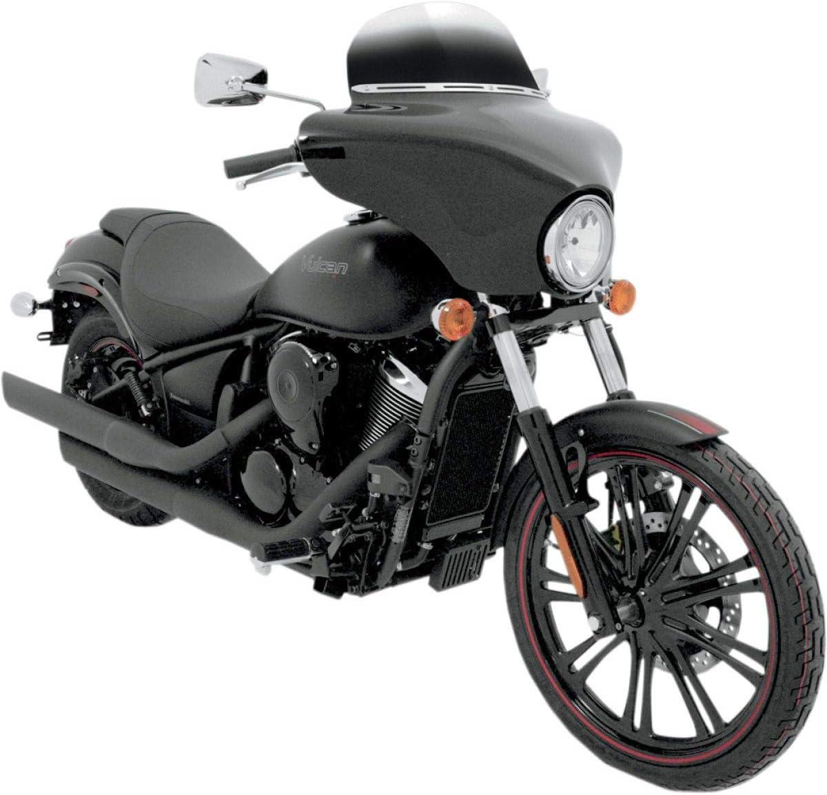 Memphis Shades MEM7151 Black Batwing Fairing fits Kawasaki VN900C Vulcan Custom 2007-2015