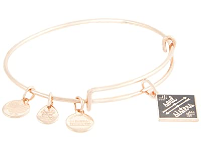 Alex and Ani Color Infusion Soul Sisters Bangle Bracelet (Shiny Rose Gold) Bracelet