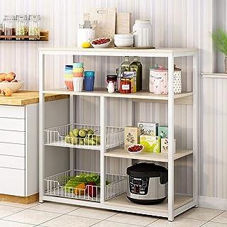 Rangement Cuisine Organisateur étagère Utilitaire Rack de Cuisine Baker étagère de Rangement Polyvalent entièrement Person...