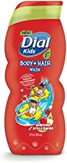 Dial Kids Body & Hair Shampoo / Body Wash Bursting Apple Rapids 12 fl oz (1 psck)