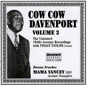 Cow Cow Davenport Vol. 3 (1940s)