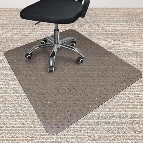 LezGo Office Chair Mat for Carpeted Floor with Glide Studded, 48
