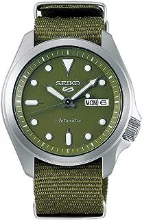 Seiko Sport 5 Facelift Automatic Nylon Strap Green Watch SRPE65K1
