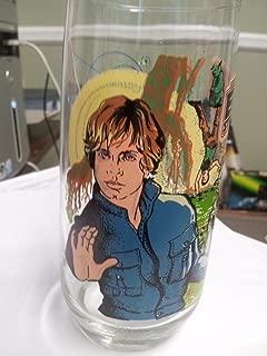 Vintage 1980 Star Wars The Empire Strikes Back Burger King Coca Cola Glass Collector Series Luke Yoda R2D2
