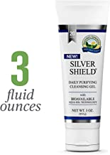 Nature's Sunshine Silver Shield Gel, 3oz. Tube | Colloidal Silver Gel With Aqua Sol Technology Promotes Natural Skin Hydration with a Moisturizing Effect