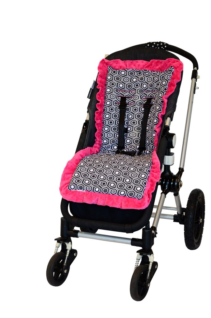 Pink Honey Baby-BeeHaven Cush and Go Memory Foam Stroller Liner