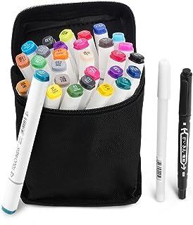 30 colores TOUCHNEW doble arte marcadores con punta fina y amplia, perfecta para la ilustración