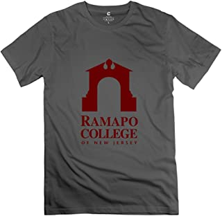 Mens Ramapo College Of New Jersey O-Neck T Shirt