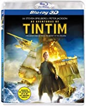 Blu-ray 3D The Adventures of Tintin - The Secret of the Unicorn [ Region ALL ] [ Audio and Subtitles in English + Portuguese ]
