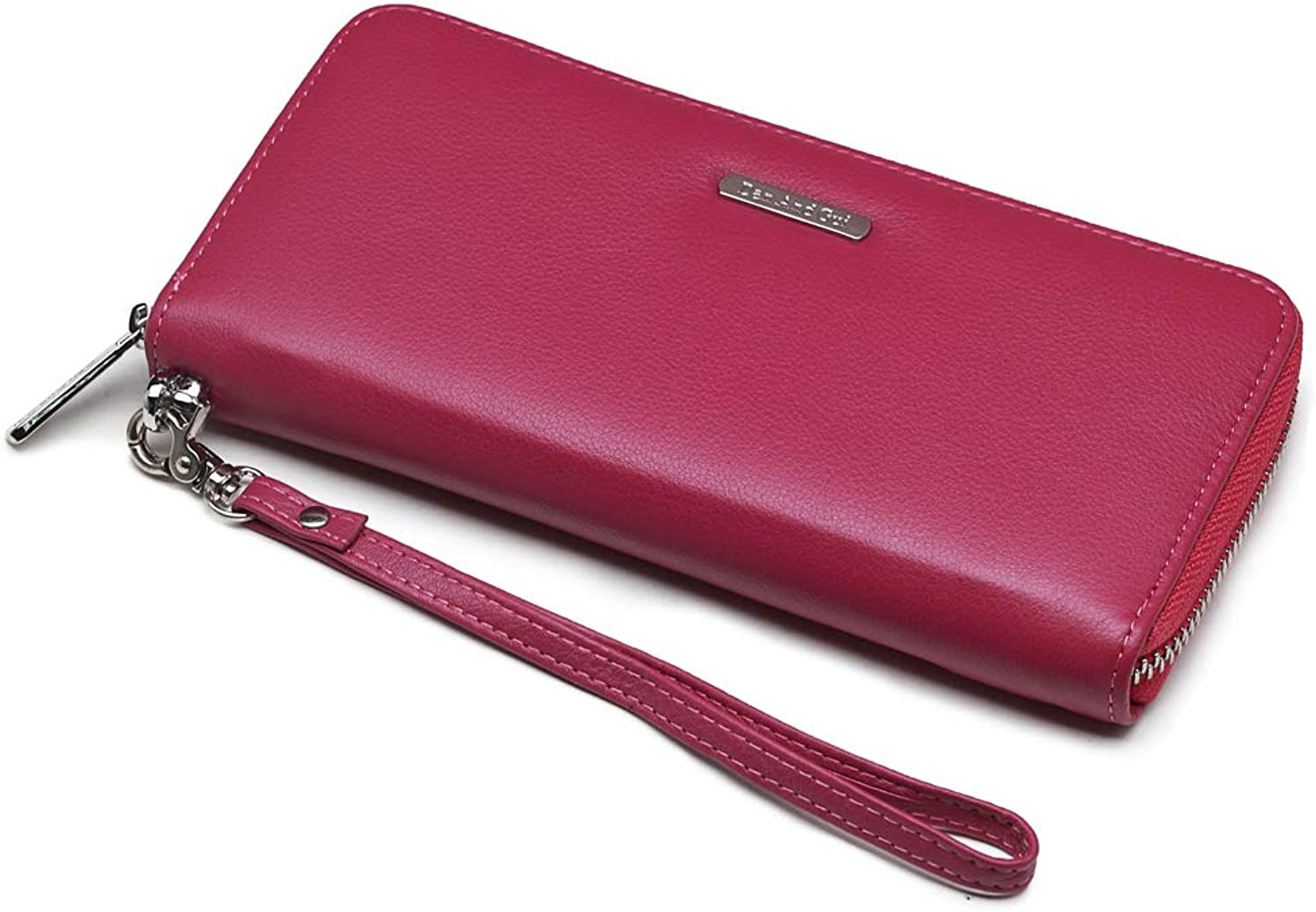 Dan And Gui Long Zip Around Wallets for women girlfreind wife Genuine Leather
